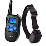 Cheap Wewalab Dog Training Collar Rechargeable Rainproof 330 yd Remote Dog Training Shock Collar -Vibration, Shock and Tone with Backlight LCD,Vibra Shock Electronic Collar