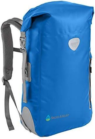 Blue 25L Waterproof Dry Bag Backpack Camping Hiking Beach Sailing Fishing