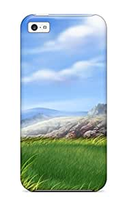 Pauline F. Martinez's Shop Sanp On Case Cover Protector For Iphone 5c (3d Spring Landscape) 3635404K39581242