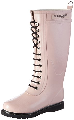 Stivali Stivali di Adobe Jacobsen Rosa Gomma Gomma Gomma RUB1 Rose Ilse Donna 7wqtOE