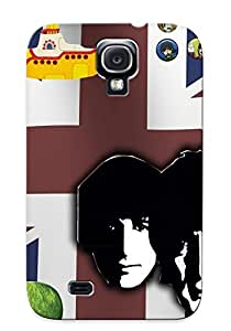 Christmas Gift - Tpu Case Cover For Galaxy S4 Strong Protect Case - The Beatles Design