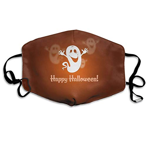 Happy Halloween Pattern Mouth Masks Unisex Anti-Dust Flu Mouth Mask Fashion Design for Girls Women Boys Men