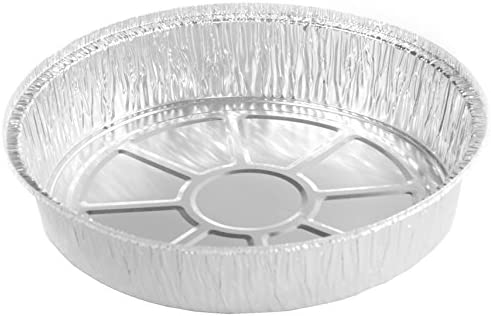 30 Gauge Aluminum 500-Count Spectiv Brands SD-44-3789 Simply Deliver 9-Inch Round Disposable Take-Out Pan