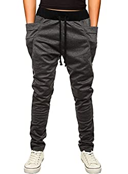 HEMOON Men's Casual Jogger Pants Basic Sweatpants with Pockets