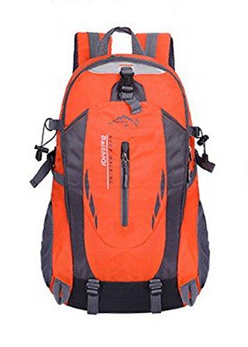 à Zippers AgooLar Daypack Décontractée à Sacs Orange Sacs bandoulière Orange Femme dos qFxFwA0g