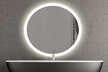 London Runder Spiegel Mit Led Beleuchtung Badspiegel Zimmer Spiegel