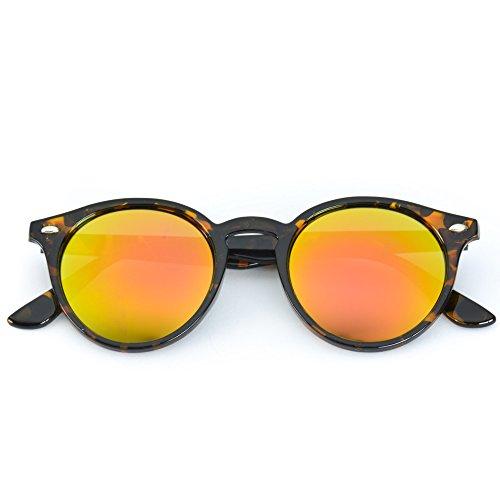 b975984faf WearMe Pro Classic Small Round Retro Sunglasses