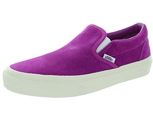 Vans Unisex Classic Slip-On (Vintage Suede) Skate Shoe, 7 B(M) US Women / 5.5 D(M) US Men