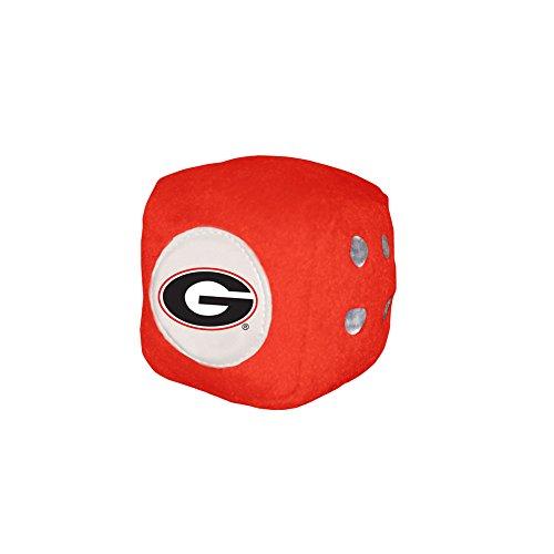 Fremont Die NCAA Georgia Bulldogs Football Team Fuzzy Dice, -
