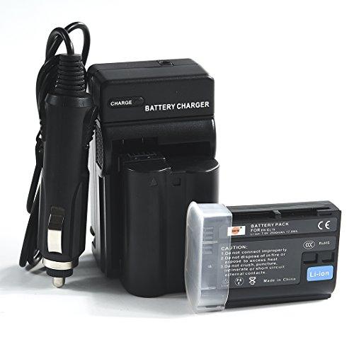 D7100 D750 D610 1 V1 Digital Cameras D800 Nikon EH5 + EP5B Replacement D800E D810 D600 Polaroid AC Power Adapter Kit For Nikon D7000