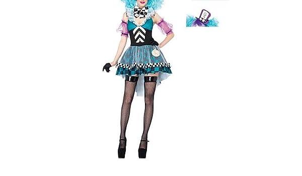 Taza de té sombrerero loco disfraz infantil de carnaval de mujer ...
