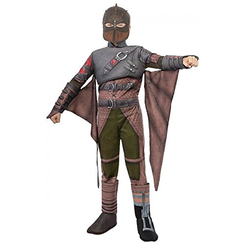 Zombie Race Car Driver Costume (Deluxe Hiccup Flight Suit Costume - Small)