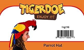 Parrot Head Hat Tigerdoe Parrot Hat Bird Costume Hat Animal Hat Novelty Hat Parrot Hats Jimmy Buffet