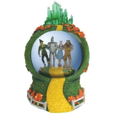 Wizard of Oz Emerald City Musical Waterglobe ()