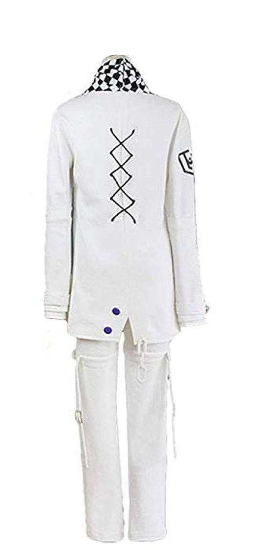 Yunbei Ouma Kokichi Cosplay Costume White Uniform Halloween