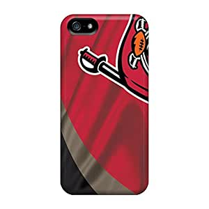 InesWeldon Iphone 5/5s Perfect Hard Phone Cover Support Personal Customs Colorful Tampa Bay Buccaneers Pictures [dvm265WeyT]