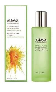 AHAVA Dry Oil Body Mist, Prickly Pear & Moringa, 3.4 Fl Oz