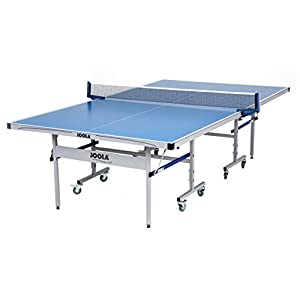 JOOLA NOVA – Outdoor Table Tennis Table with Waterproof Net Set – 10 Minute Easy Assembly – All Weather Aluminum Composite Outdoor Ping Pong Table – Tournament Quality – Indoor & Outdoor Compatible