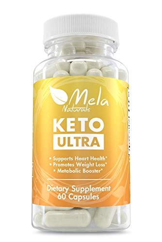 Premium ketogenic Weight Loss Herbal Supplement. with 7 Fat Burning Ingredients. Promotes Weight Loss and Heart Health. Helps speeds up Metabolism to Burn Fat While in ketosis by Mela Natutals