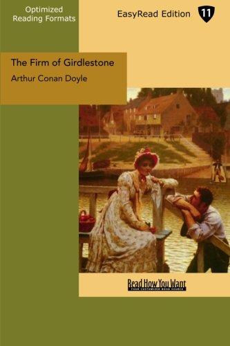 The Firm of Girdlestone: (EasyRead Edition): Amazon.es: Arthur Conan Doyle: Libros en idiomas extranjeros