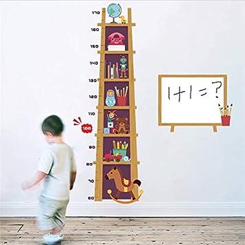Medida De La Altura De Los Niños Etiqueta De La Pared Para ...