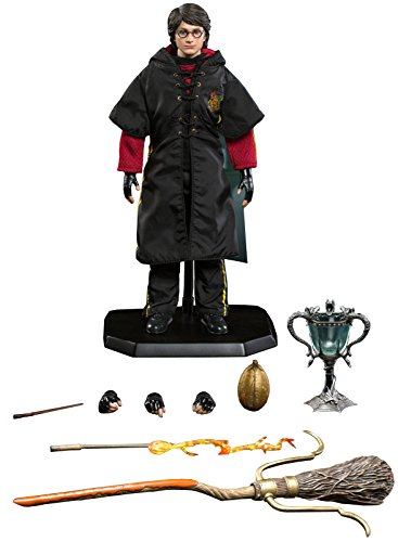 Star Ace Toys Harry Potter & The Goblet of Fire: Harry Potter Triwizard Tournament Version A with Flash Wand 1: 6 Scale Action Figure