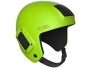 Cookie combustible paracaidismo casco (verde lima, tamaño L)