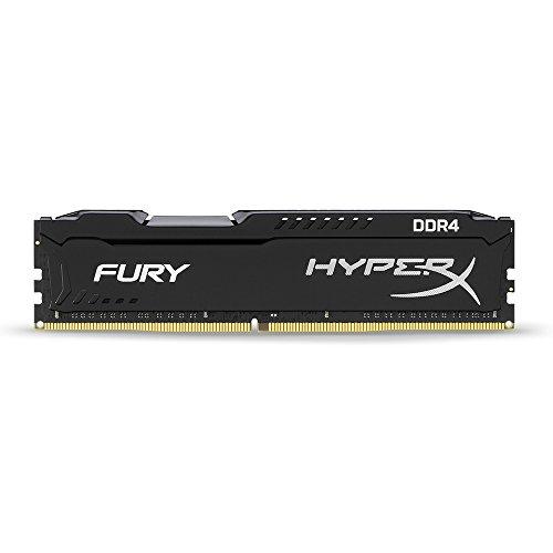 عروض Kingston Technology HyperX Fury Black 32GB 2666MHz DDR4 CL16 DIMM Kit of 2 (HX426C16FBK2 / 32)