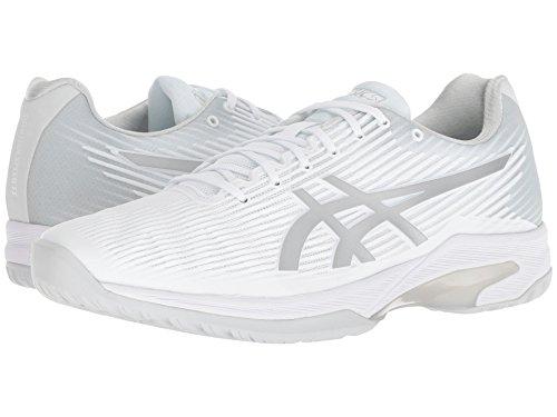 [asics(アシックス)] メンズランニングシューズ?スニーカー?靴 Solution Speed FF White/Silver 6.5 (25cm) D - Medium