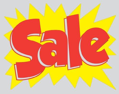 Sale - Vinyl Window Cling Sign - (Vinyl Cling Signs)