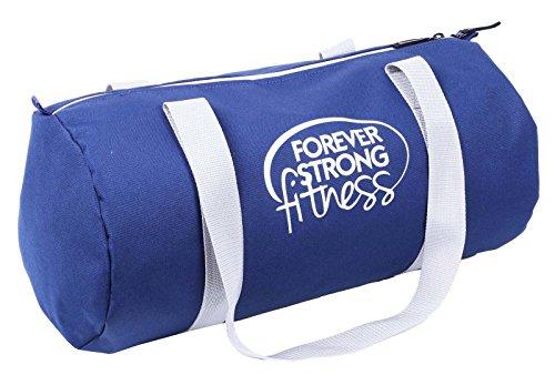 Saludo del trozo de poliéster 19 Ltr viaje Mochila con cuerdas Deportes Gimnasio barril Bolsas Azul marino
