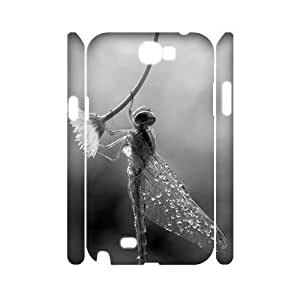 Beautiful Dragonfly Brand New 3D Iphone 5/5S ,diy case cover ygtg-310387