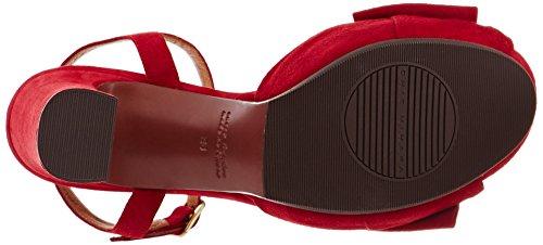 Ante Women's Red Platform Rojo Chie Ante Rojo Castus Sandals Mihara wBnqA8x1PF
