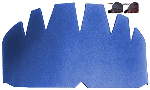 3Pk. Dark Blue Baseball Caps Crown Inserts Comfortable, Flexible & Long Lasting Hat Shaper, Foam Hat Liner Support for Snapback Caps, Fitted Caps, and more. 100% Mbg, 1 Free w/purchase of 3Pk.
