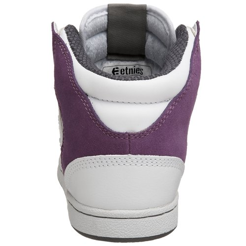 Etnies  ETNIES Perry Mid White Purple,  Sneaker donna White Purple