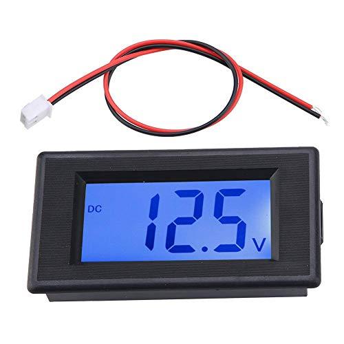 Volt Voltmeter - 4-30V 2-Wire LCD Display Voltmeter Digital Voltage Power Tester Blue Screen Backlight