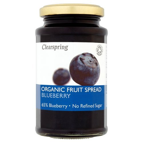Clearspring - Organic Fruit Spread - Blueberry - 290g by Clearspring (Image #1)