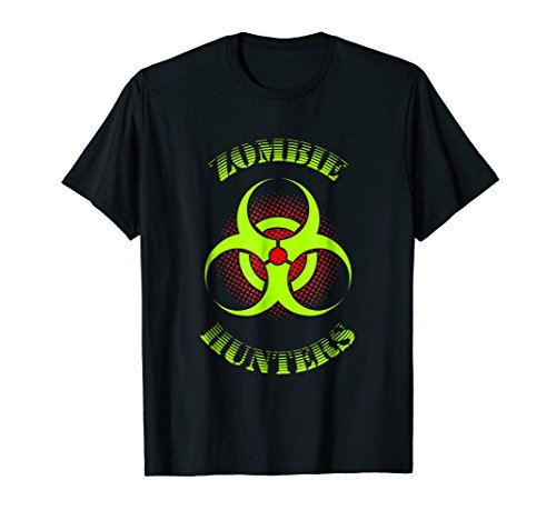 Zombie Hunter T-shirt Bio-Hazard Glow L7 Gift for Horror -