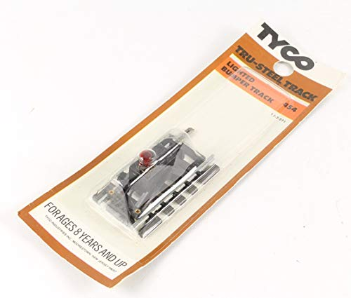 Tyco Tru-Steel Lighted Bumper Track - Vintage Style ()