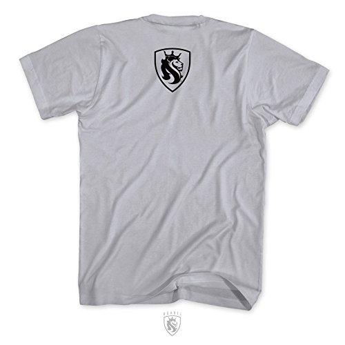 OGABEL Men's Everyday Hustle Oakland SS T Shirt Gray