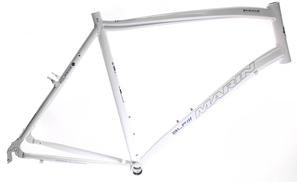 19'' MARIN LUCAS VALLEY ALP Road Commuter Bike Frame Alloy White 700c NOS NEW