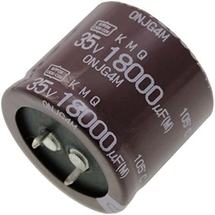2x Electrolitico Condensador 18000/µF 35V 105/°C EKMQ350VSN183MA30S ; 18000uF