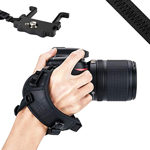 JJC DSLR Camera Hand Grip Strap Wrist Strap w/U Plate for sale  Delivered anywhere in USA