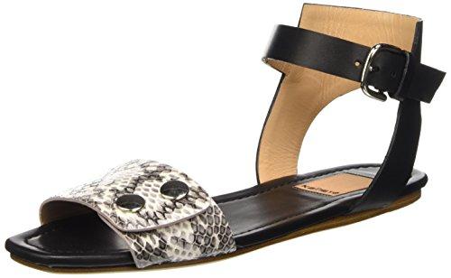 Mujer tobillo Negro Kallisté Sandalias 5728 de qtwnOOpIS