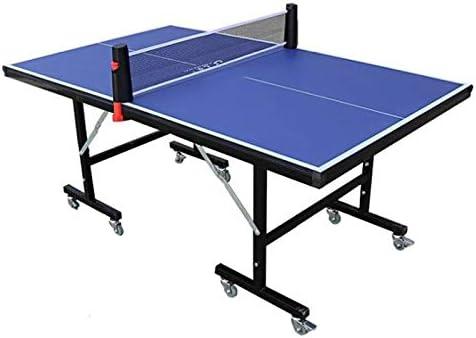 ZHRLQ Mesa De Ping-Pong para Niños, Caja De Tenis De Mesa Móvil Plegable HDF Interior Montaje Simple Y Gratuito: Amazon.es: Hogar