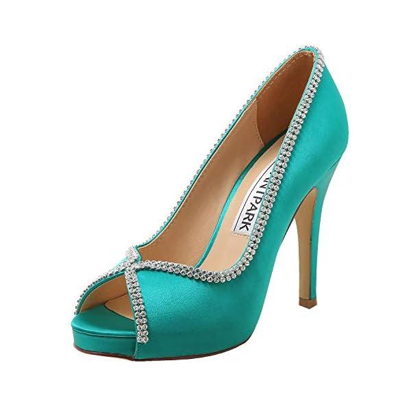 Elegantpark - Zapato de fiesta verde