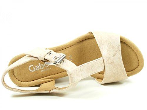 Gabor Dames Coins De Confort, Rame Blanc (grata)