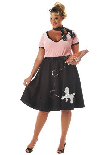 Plus Size 50s Sweetheart Costume - -