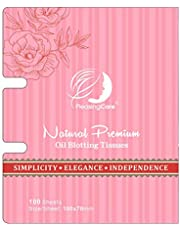 Natural Oil Absorbing Tissues (Rose - 1 Pack)