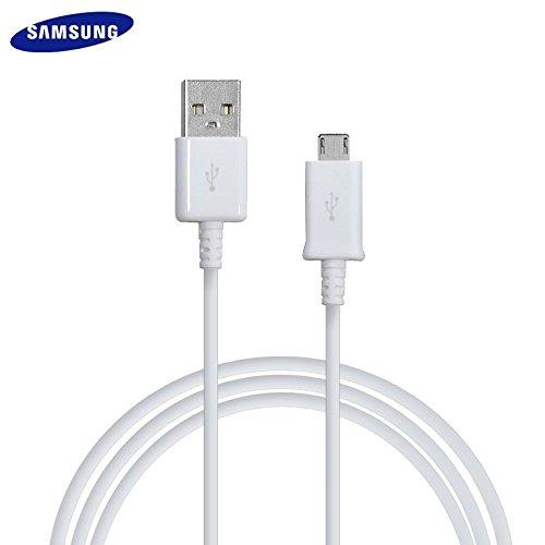 Galaxy Note 4 Câble Samsung 1.5 mètre Data USB à Micro USB ECB-DU4EWE Blanc